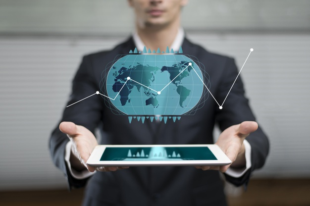 business-graph-hologram-showed-by-man_23-2148755135
