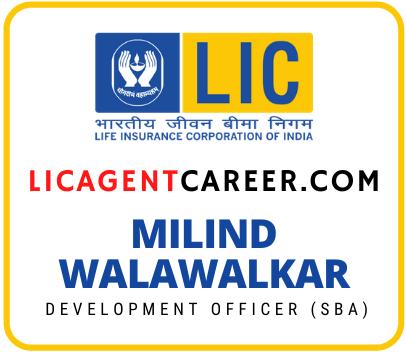 lic agent career